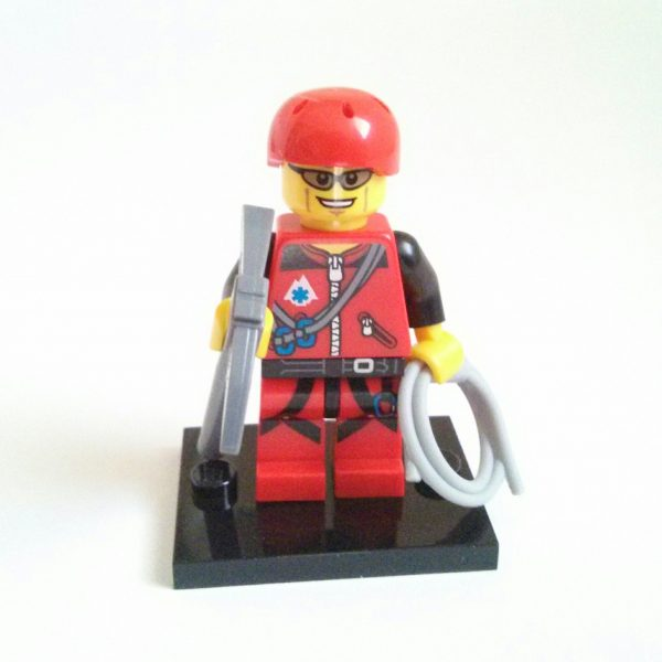 Mountain Climber Lego Collectible Minifigure Series 11