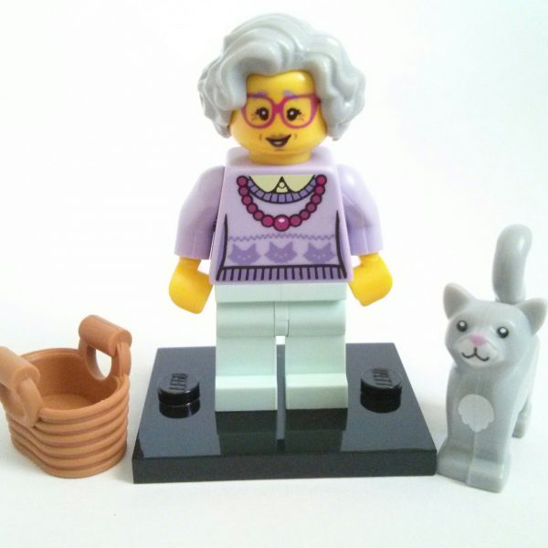 Grandma Lego Collectible Minifigure Series 11