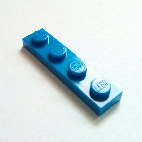 Blue Plate 1 x 4