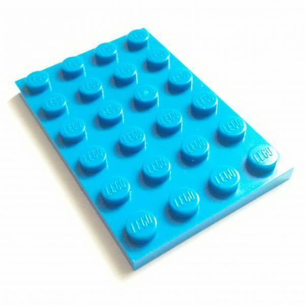 Blue Plate 4 x 6