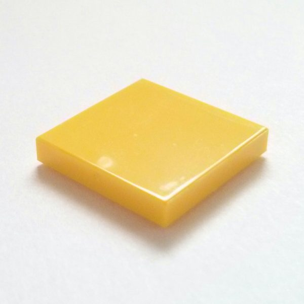 Yellow Tile 2 x 2