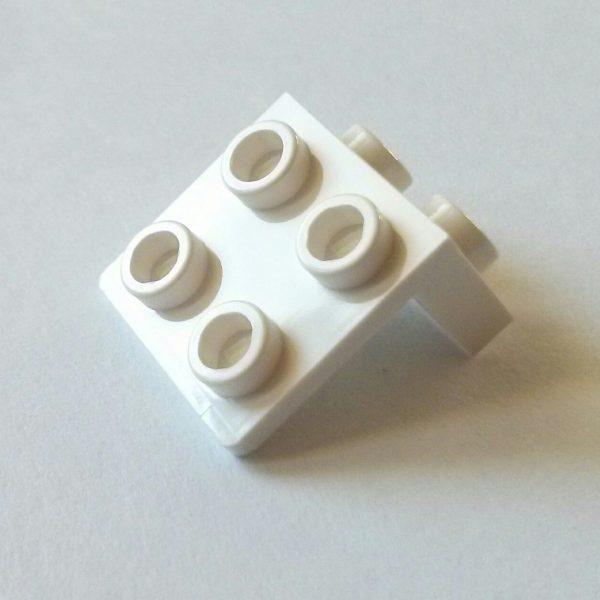 White Bracket 1 x 2-2 x 2