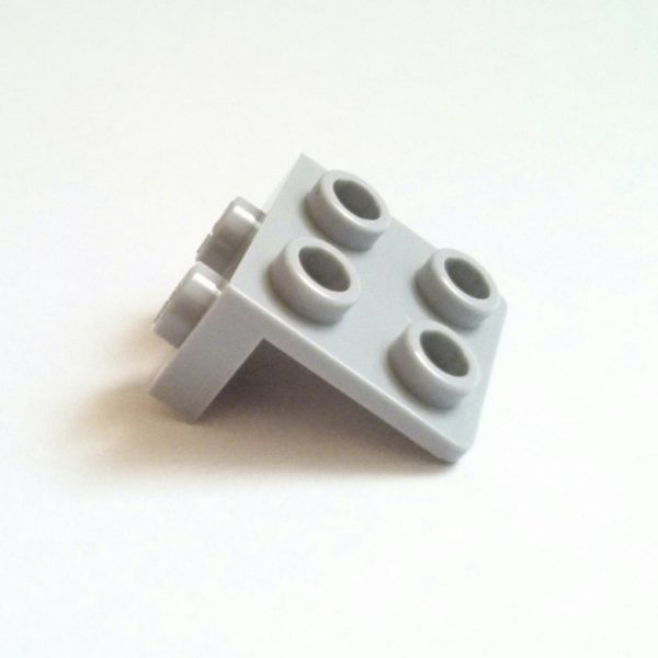 Light Bluish Gray Bracket 1 x 2-2 x 2