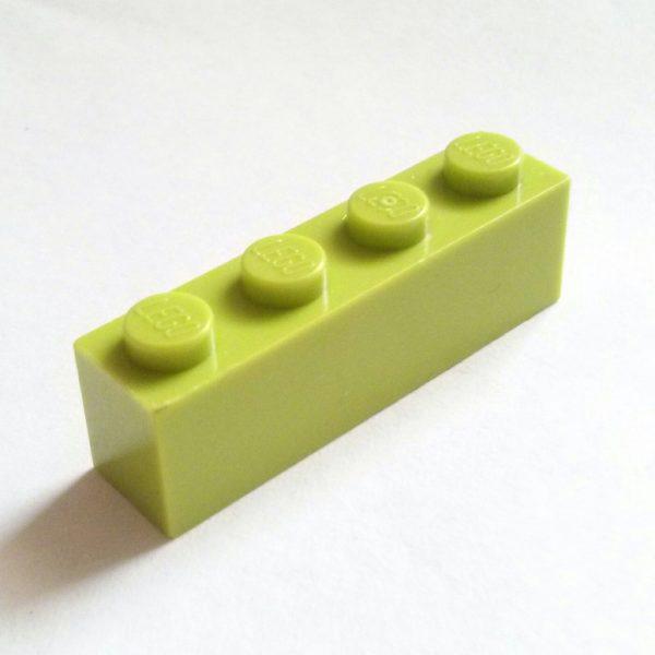 Lime Brick 1 x 4