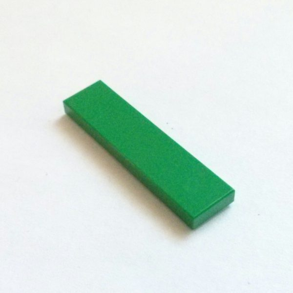 Green Tile 1 x 4