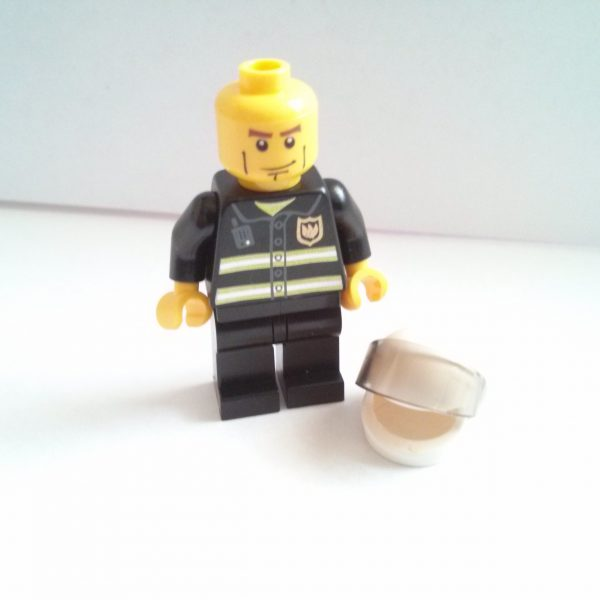 Fireman w/ White Helmet