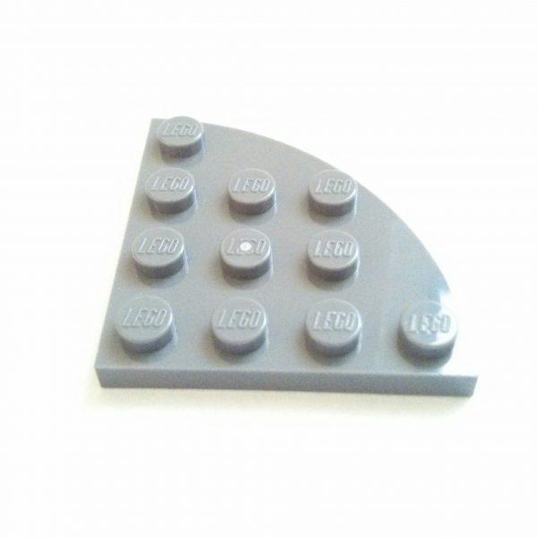 Dark bluish Gray 4 x 4 Plate Round