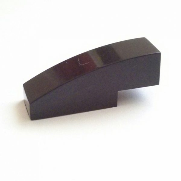 Black Slope Curved 3 x 1