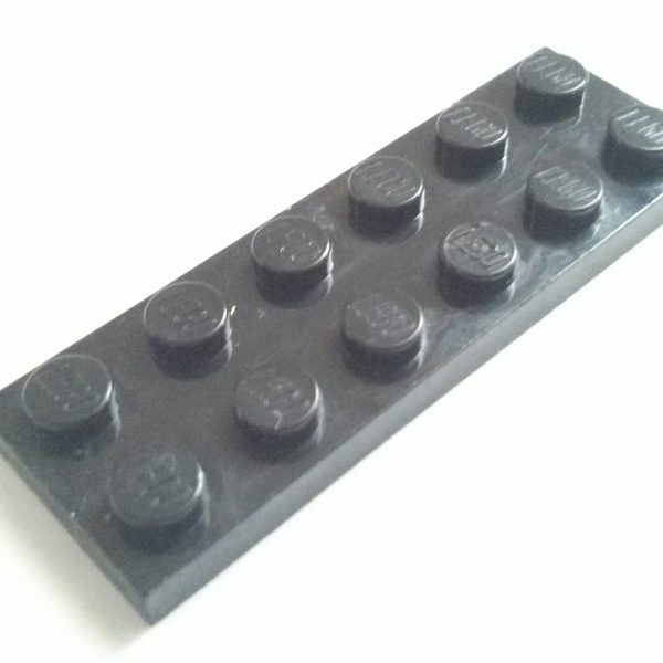 Black Plate 2 x 6 Used