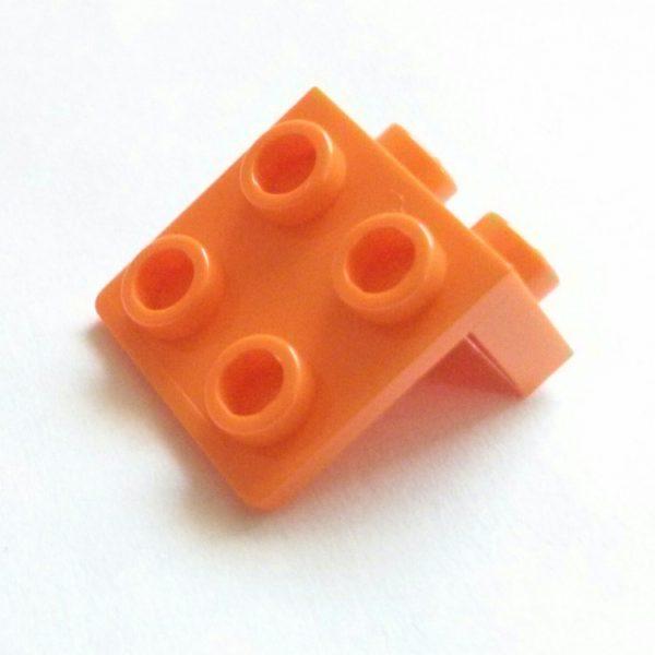 Orange Bracket 1 x 2-2 x 2