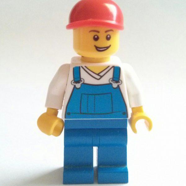 Blue Overalls Minifigure
