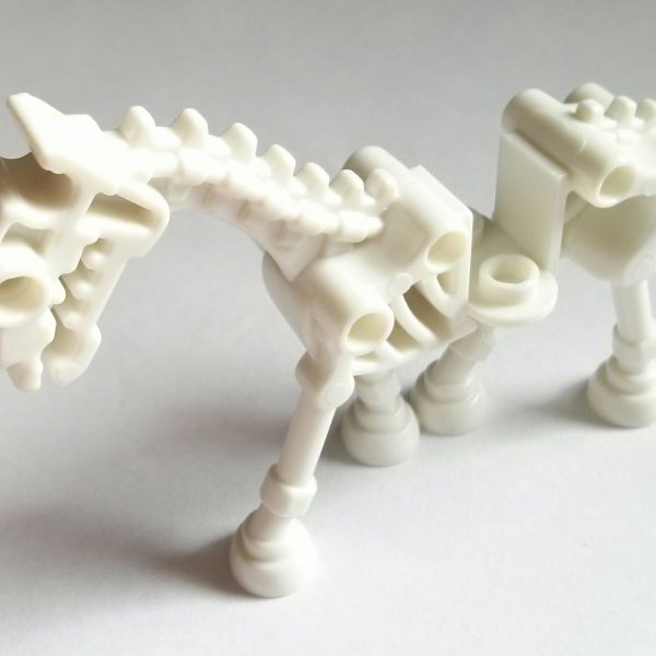 White Skeletal Horse