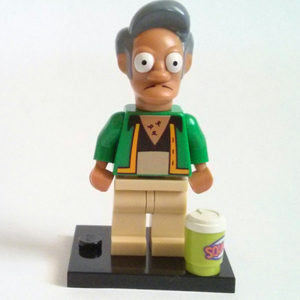 Apu Nahasapeemapetilon Lego Collectible Minifigure The Simpsons