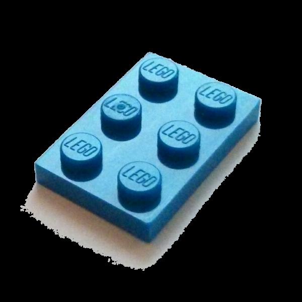 Blue Plate 2 x 3