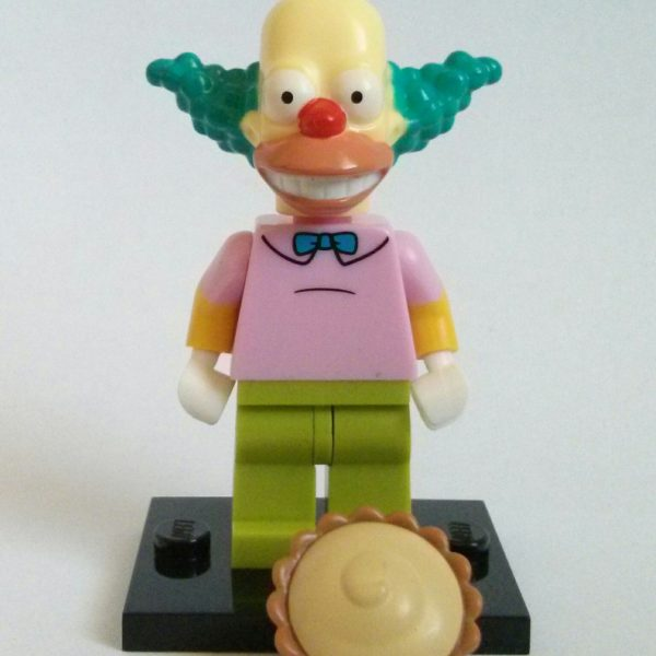 Krusty the Clown Lego Collectible Minifigure The Simpsons