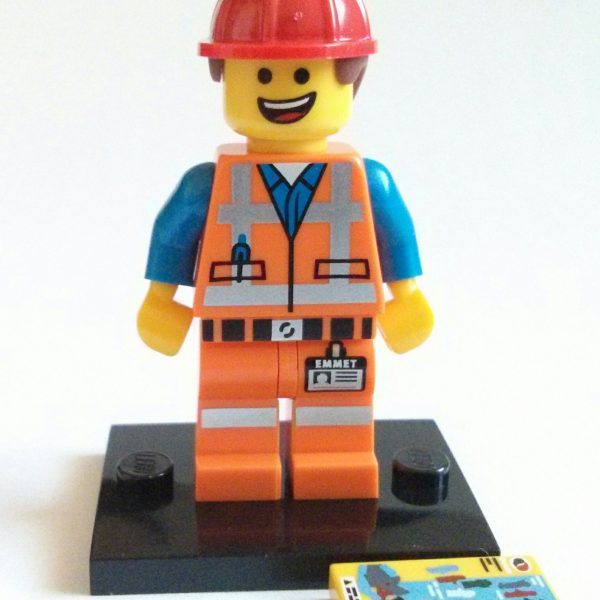 Emmet Hard Hat Lego Collectible Minifigure Series The Lego Movie