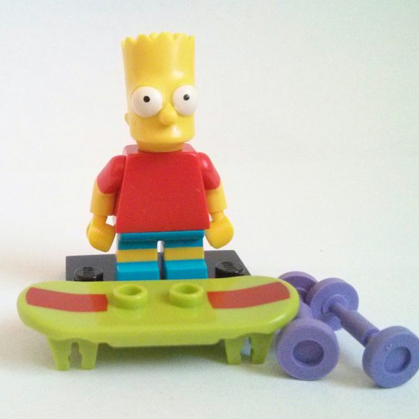 Bart Simpson Lego Collectible Minifigure Series The Simpsons