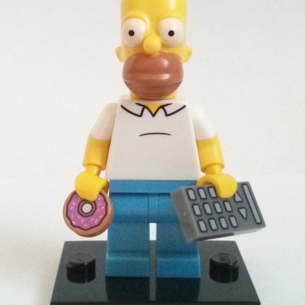 Homer Simpson Lego Collectible Minifigure The Simpsons