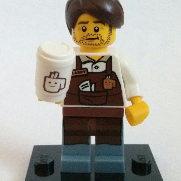Larry the Barista Lego Collectible Minifigure Series The Lego Movie