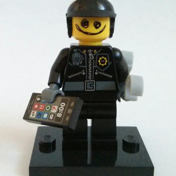 Bad Cop Scribble Face Lego Collectible Minifigure Series The Lego Movie