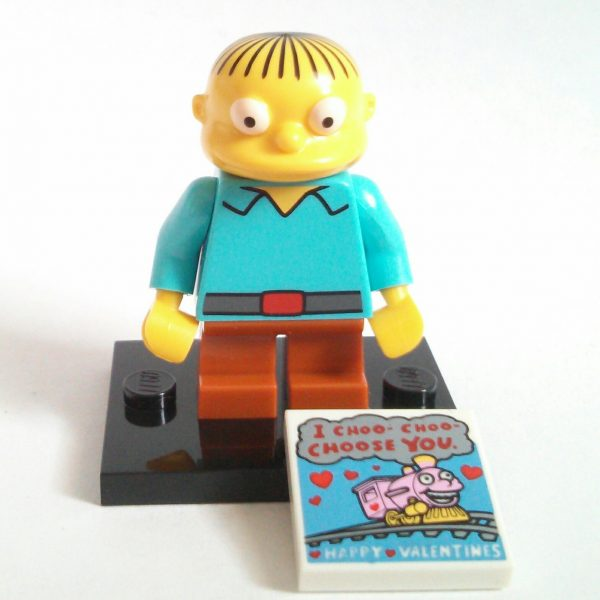 Ralph Wiggum Lego Collectible Minifigures Series The Simpsons