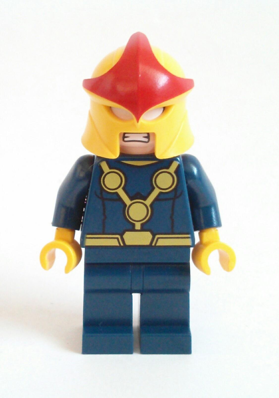 Nova Ultimate Spider-Man Lego Minifigure