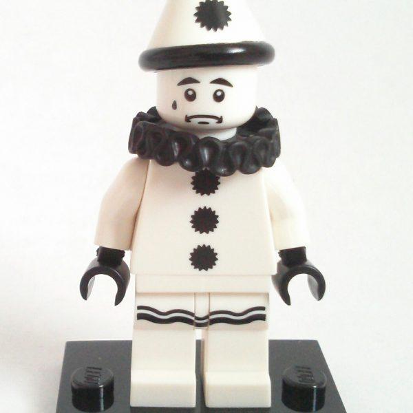 Sad Clown Lego Collectible Minifigure Series 10