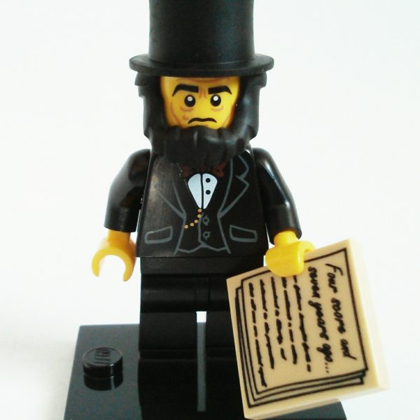 Abraham Lincoln Lego Collectible Minifigure Series The Lego Movie