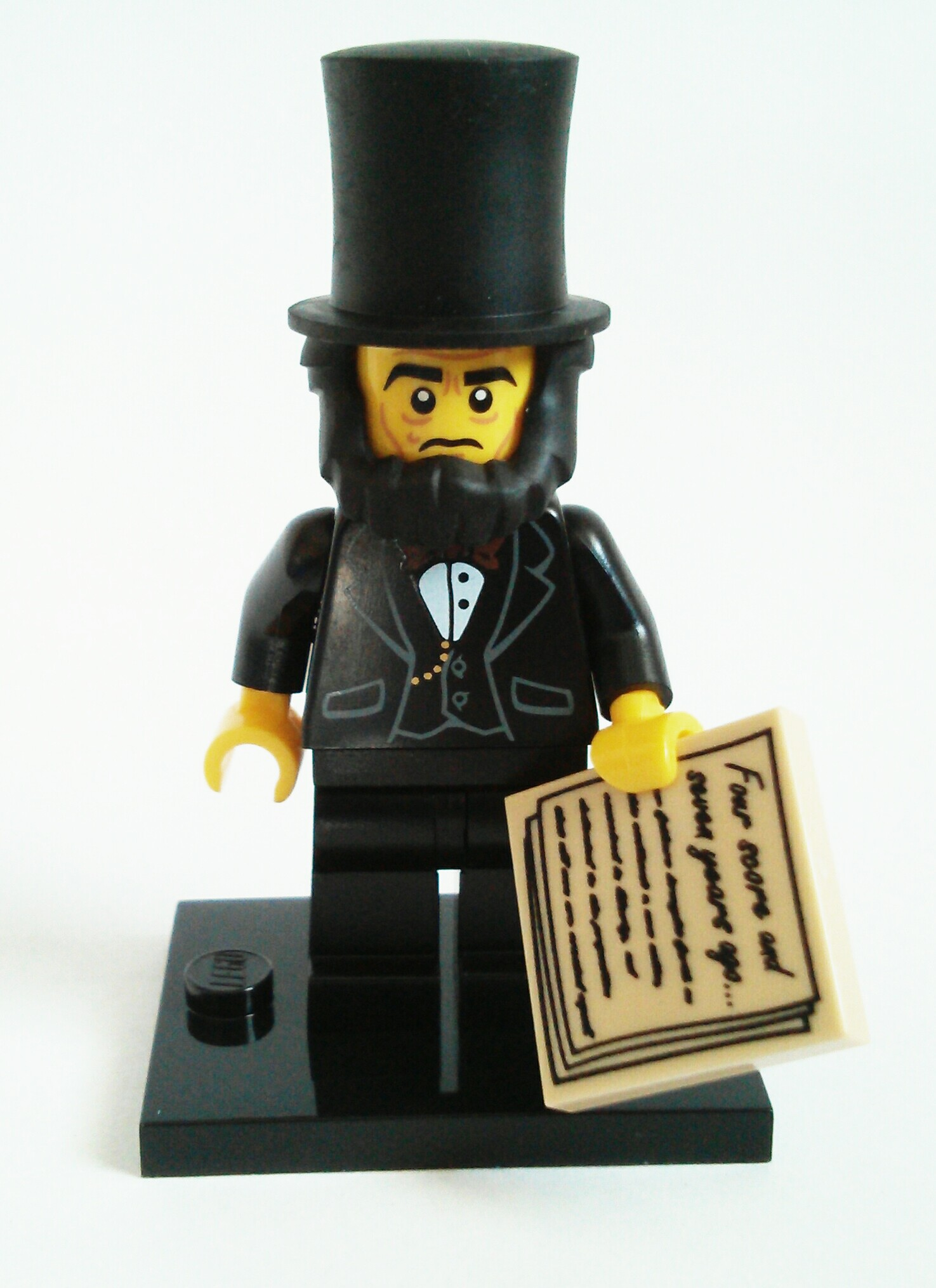 Abraham Lincoln Lego Collectible Minifigure Series The