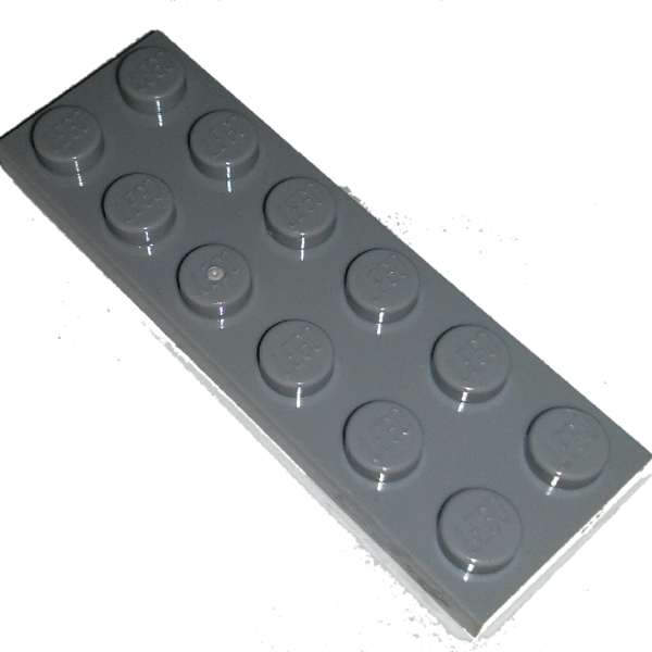 Dark Bluish Gray Plate 2 x 6 Used