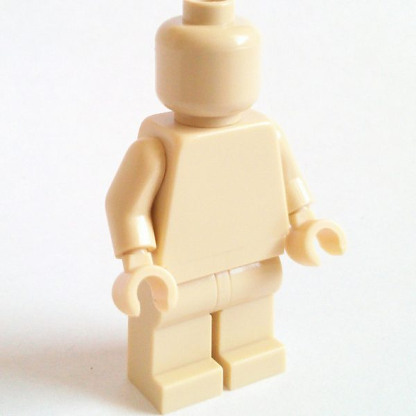 Tan Lego Monochrome Minifigure