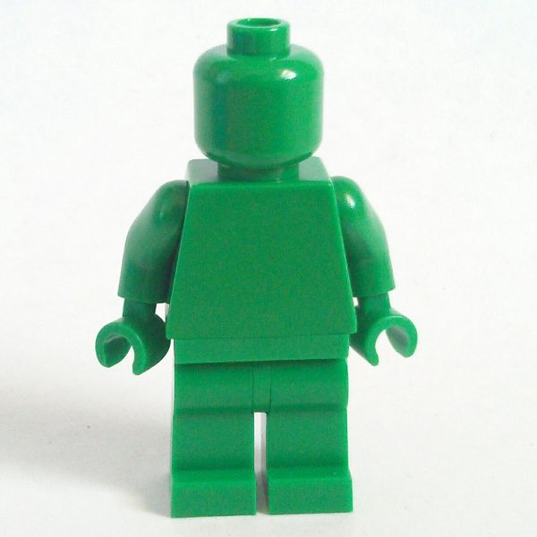 Green Lego Monochrome Minifigure