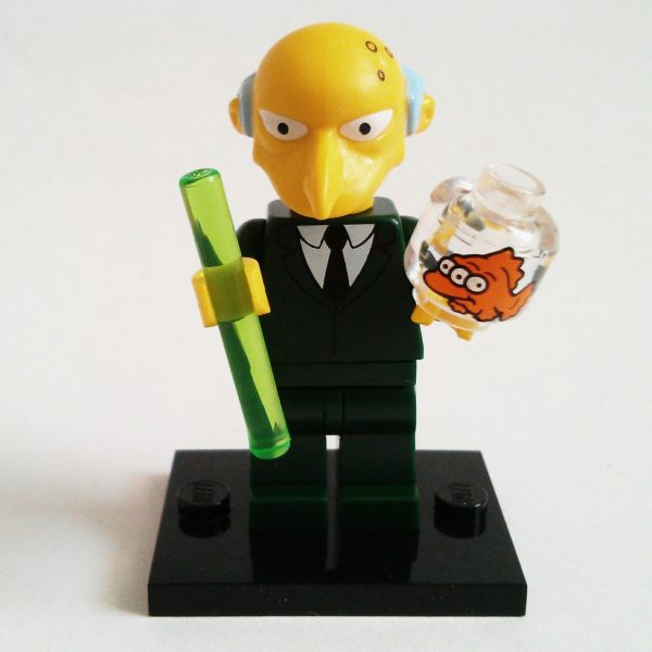 Mr. Burns Lego Collectible Minifigure Series The Simpsons