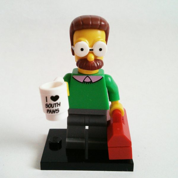 Ned Flanders Lego Collectible Minifigure Series The Simpsons