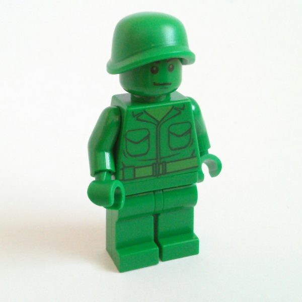 Green Army Man Minifigure