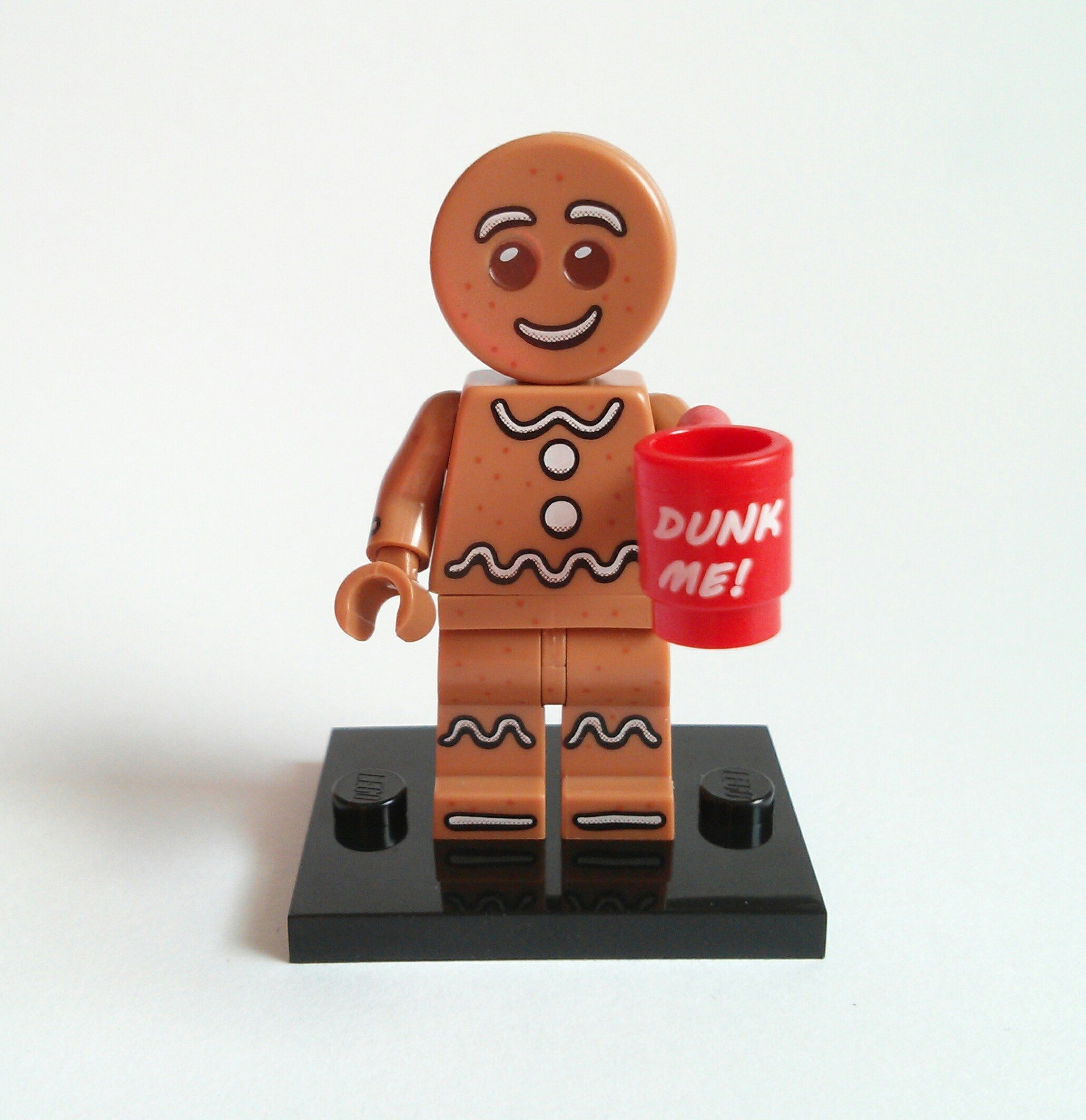 Gingerbread Man Lego Collectible Minifigure Series 11
