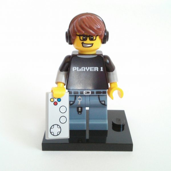 Video Game Guy Lego Collectible Minifigure Series 12