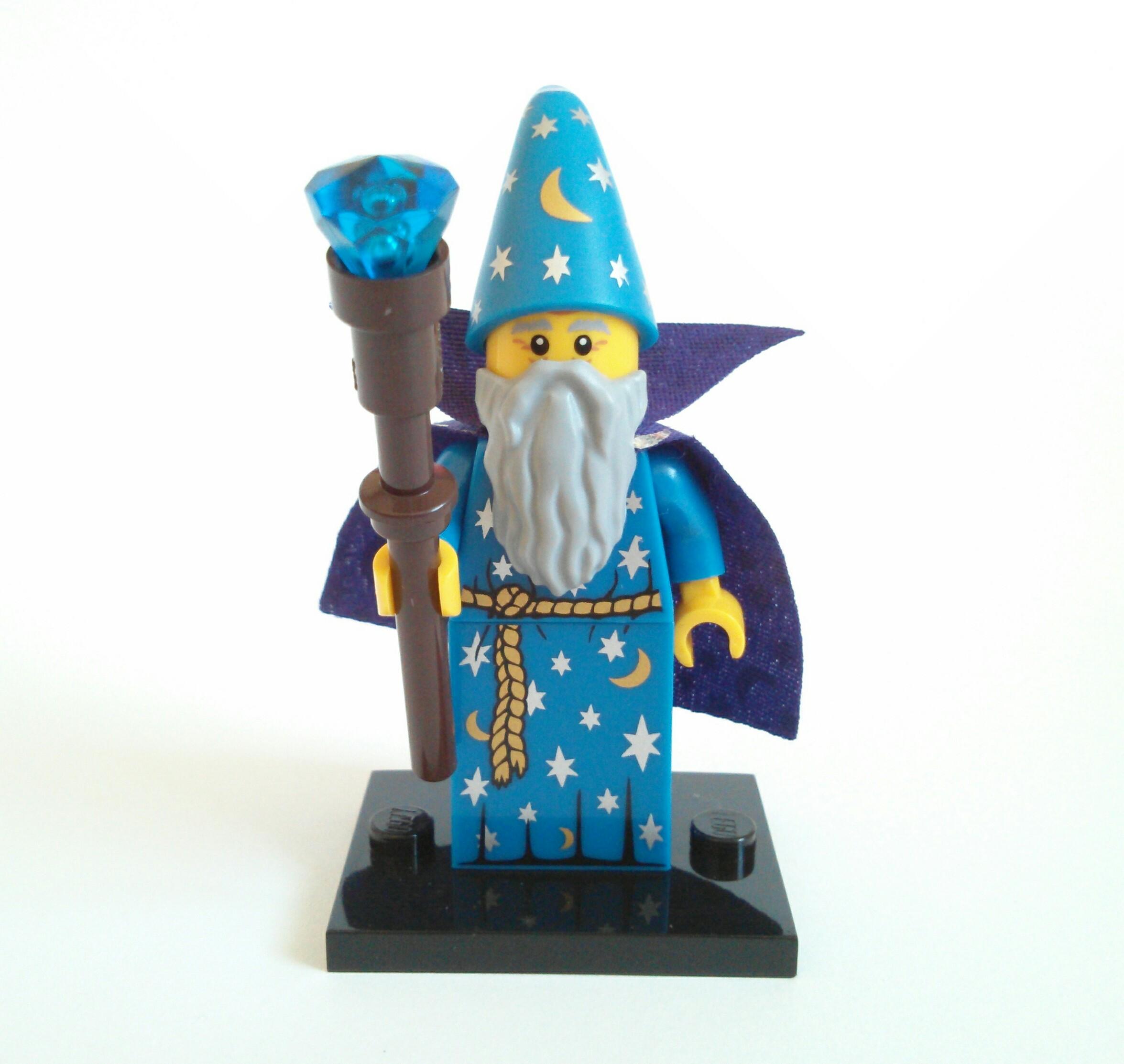 LEGO Series 12 Collectible Minifigure 71007 Wizard
