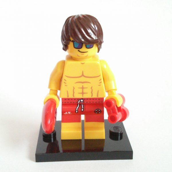 Lifeguard Lego Collectible Minifigure Series 12