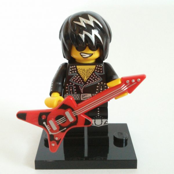 Rock Star Lego Collectible Minifigure Series 12