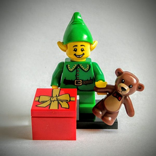 Holiday Elf Lego Collectible Minifigure Series 11