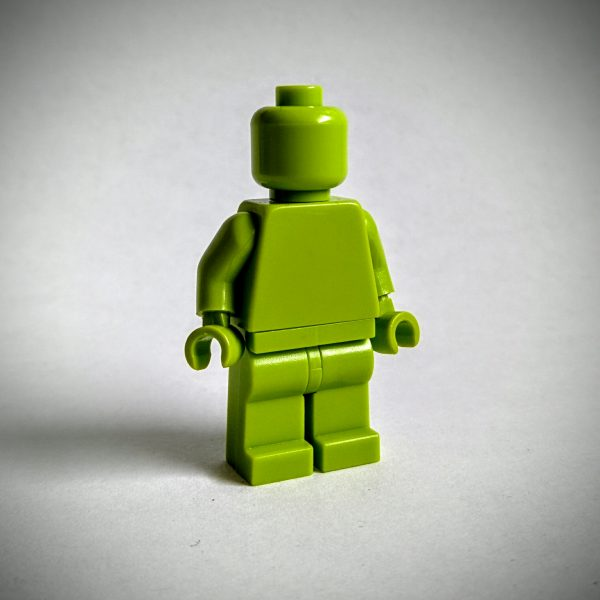Lime Monochrome Minifigure